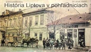 História Liptova v pohľadniciach