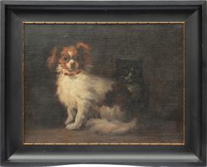 Obraz Psík a mačička