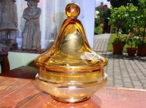 Dóza - české sklo