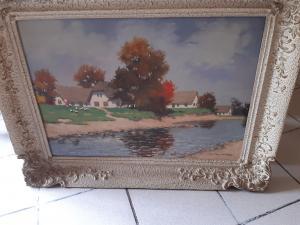 obraz olej na plátne