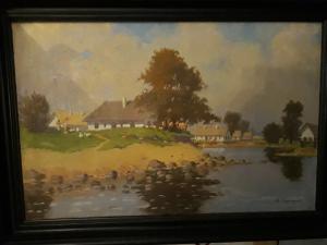 Obraz olej na plátneded