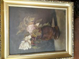 Obraz olej na plátnekyt