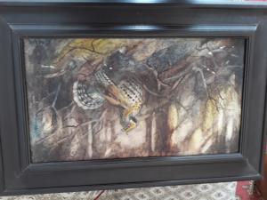 Obraz olej na sololite jariabok