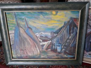 Olej na plátnemal