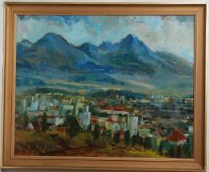 Obraz - Michal Trembač - Tatry od Popradu